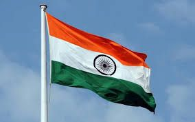 india flag waving