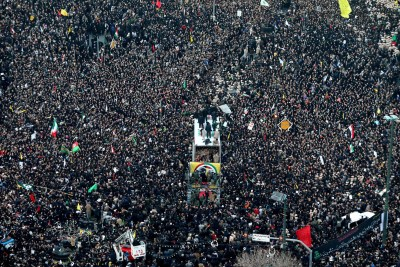 iran demonstrations jan 5 2020 Custom