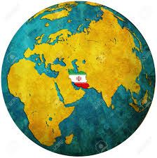 iran world map