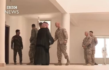 ISIS-US Raqqa negotiations (BBC photo)
