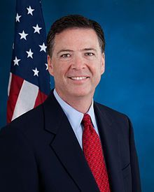 james comey fbi portrait