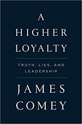 James Comey Higher Loyalty cover
