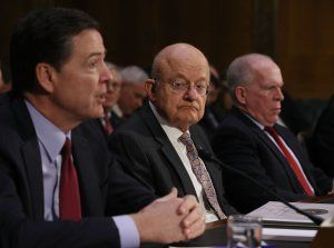 james comey james clapper john brennan
