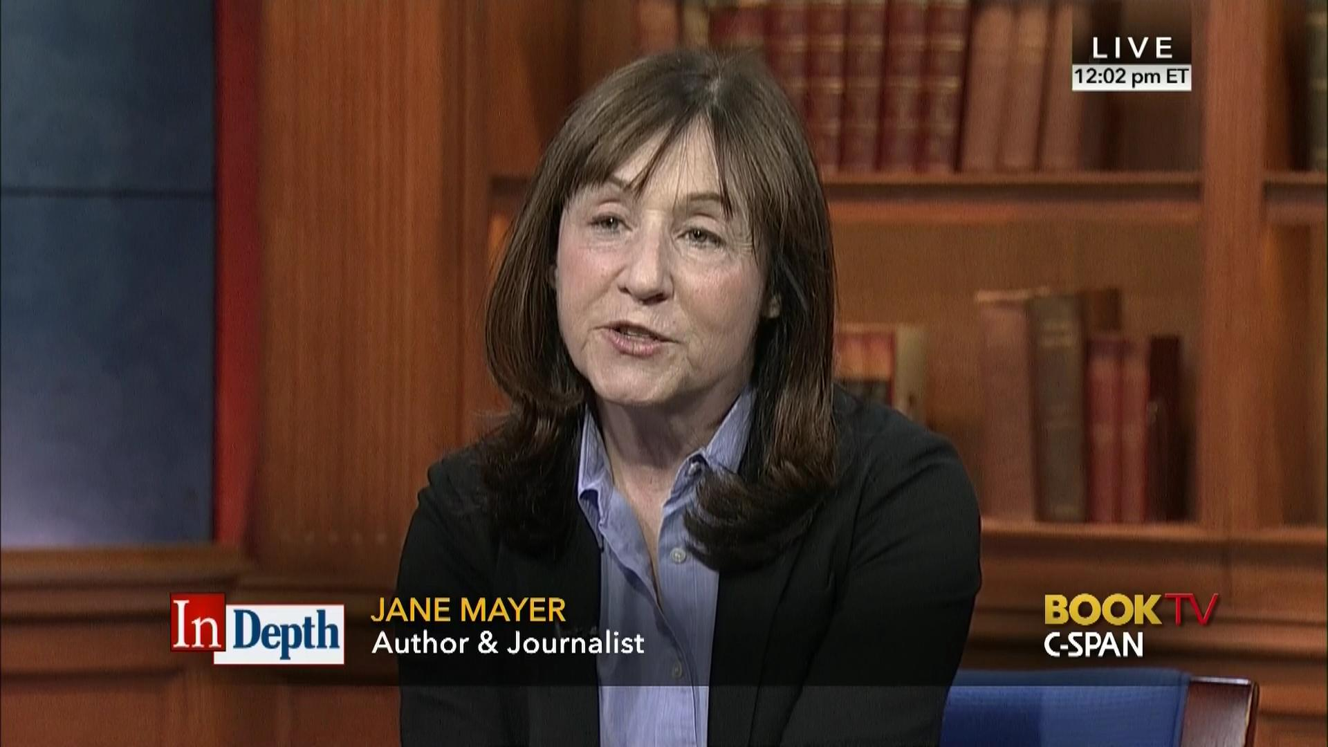 jane mayer cspan
