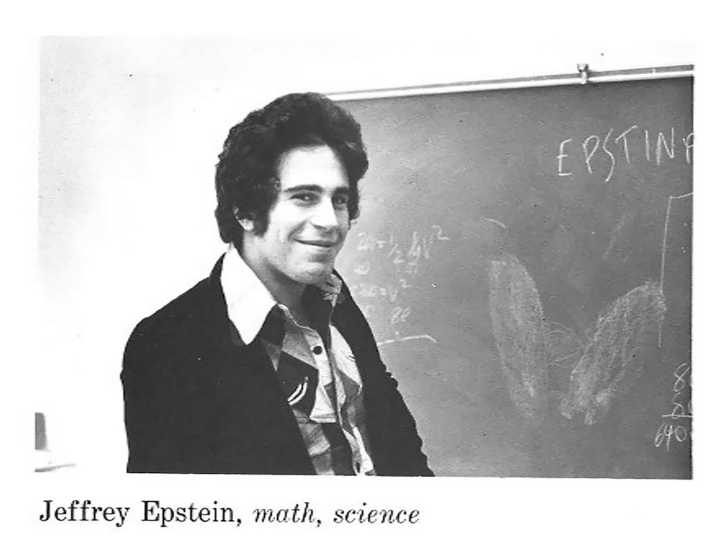 jeffrey epstein dalton yearbook 1975