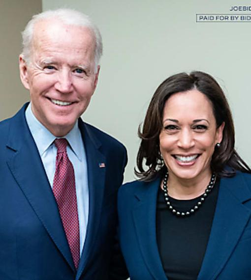 joe biden kamala harris campaign shot