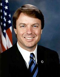 john edwards senate w