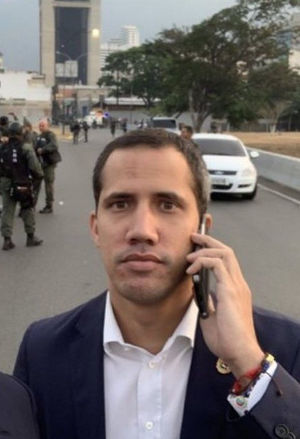 juan guaido cellphone