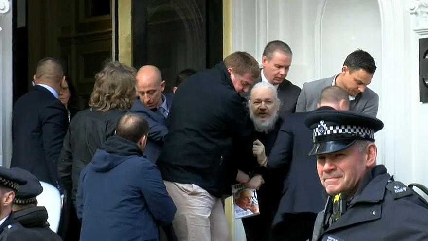 julian assange arrested april 11 2019 Copyright Ruptly