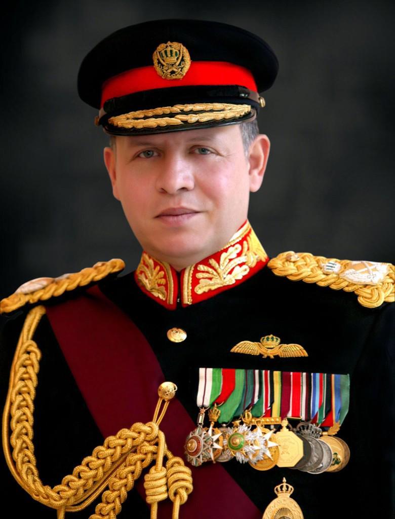 king abdullah ii jordan uniform