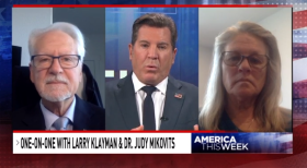 larry klayman resized eric bolling judy mikovits sinclair pandemic