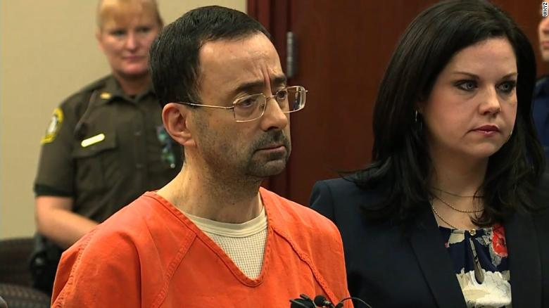 larry nassar gymnastics plea