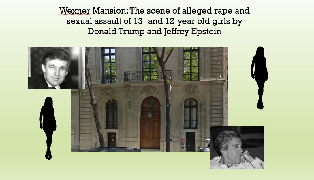 les wexner mansion jeffrey epstein wmr graphic maria