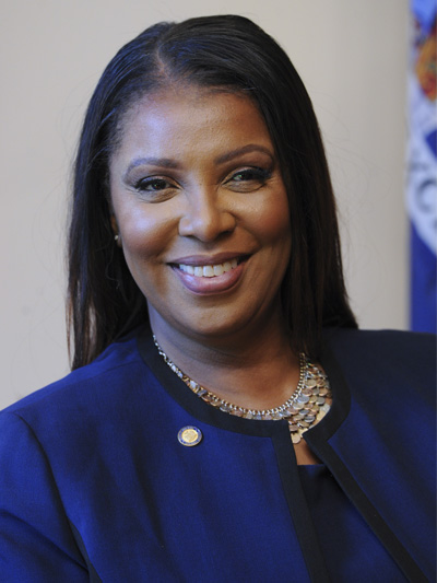 letitia james o headshot