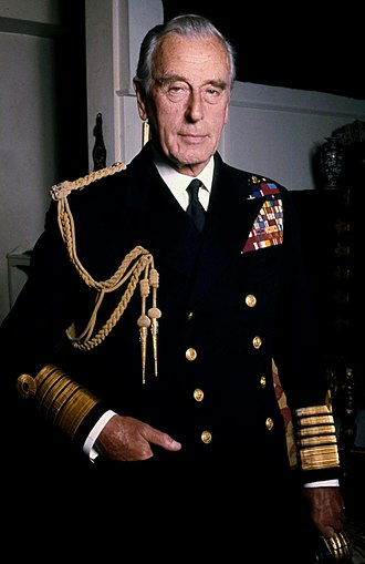 lord louis mountbatten 1976 photo by allan warren via w