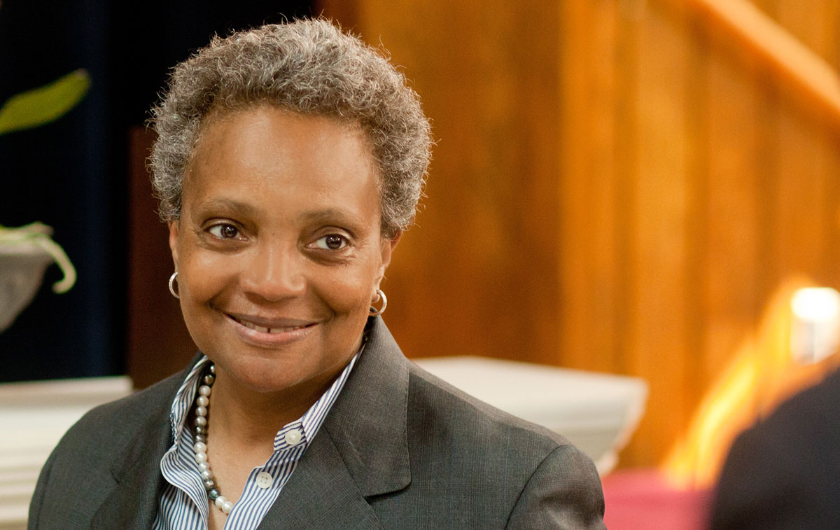 lori lightfoot smiling