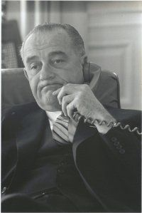 Lyndon johnson phone 1 10 64 lbj library