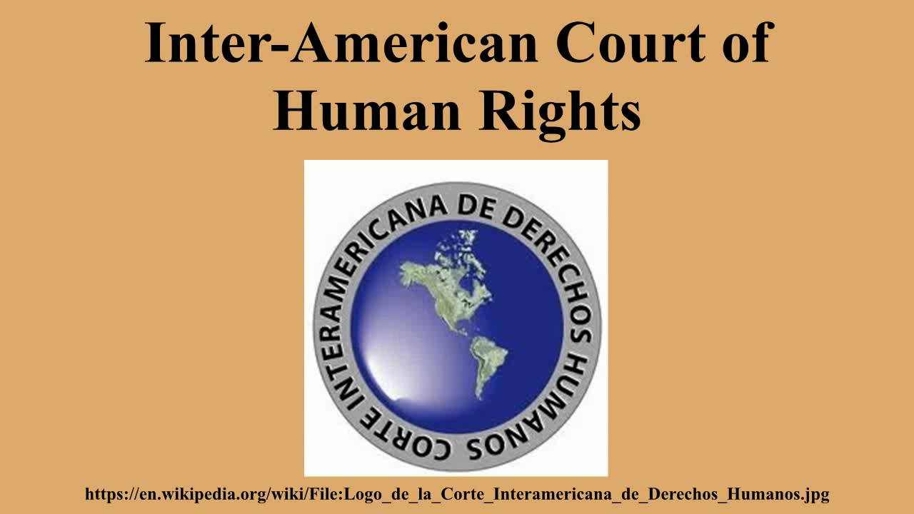 inter american court human rights