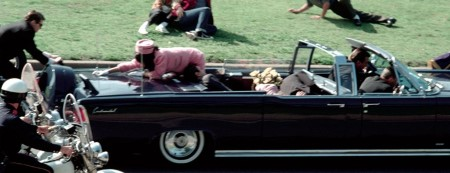 President Kennedy and Jacqueline Kennedy, Dallas limo