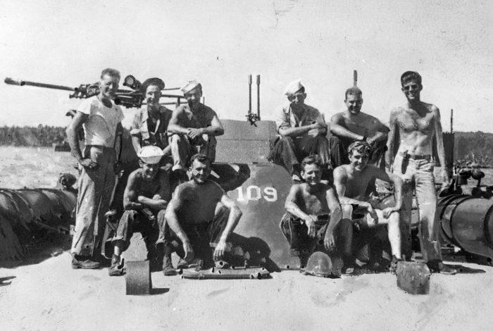 jfk pt 109 crew 1943 jfk library
