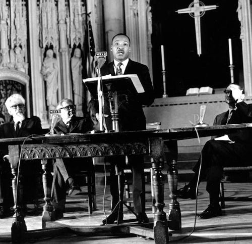 Martin Luther King Jr., Riverside Church, April 4, 1967