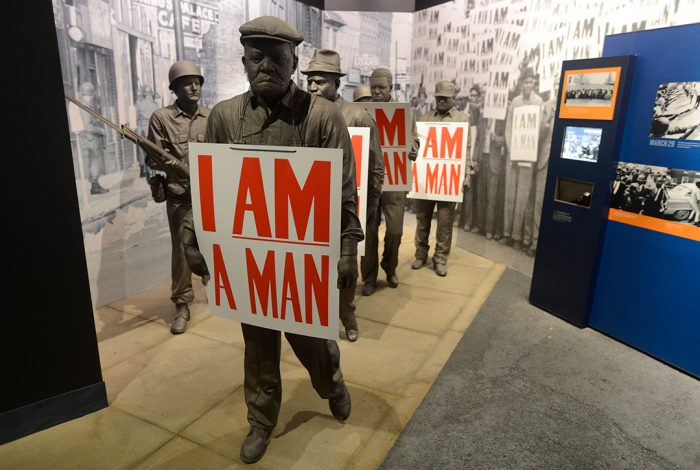 mlk i am a man usda nat civil rights museum memphis