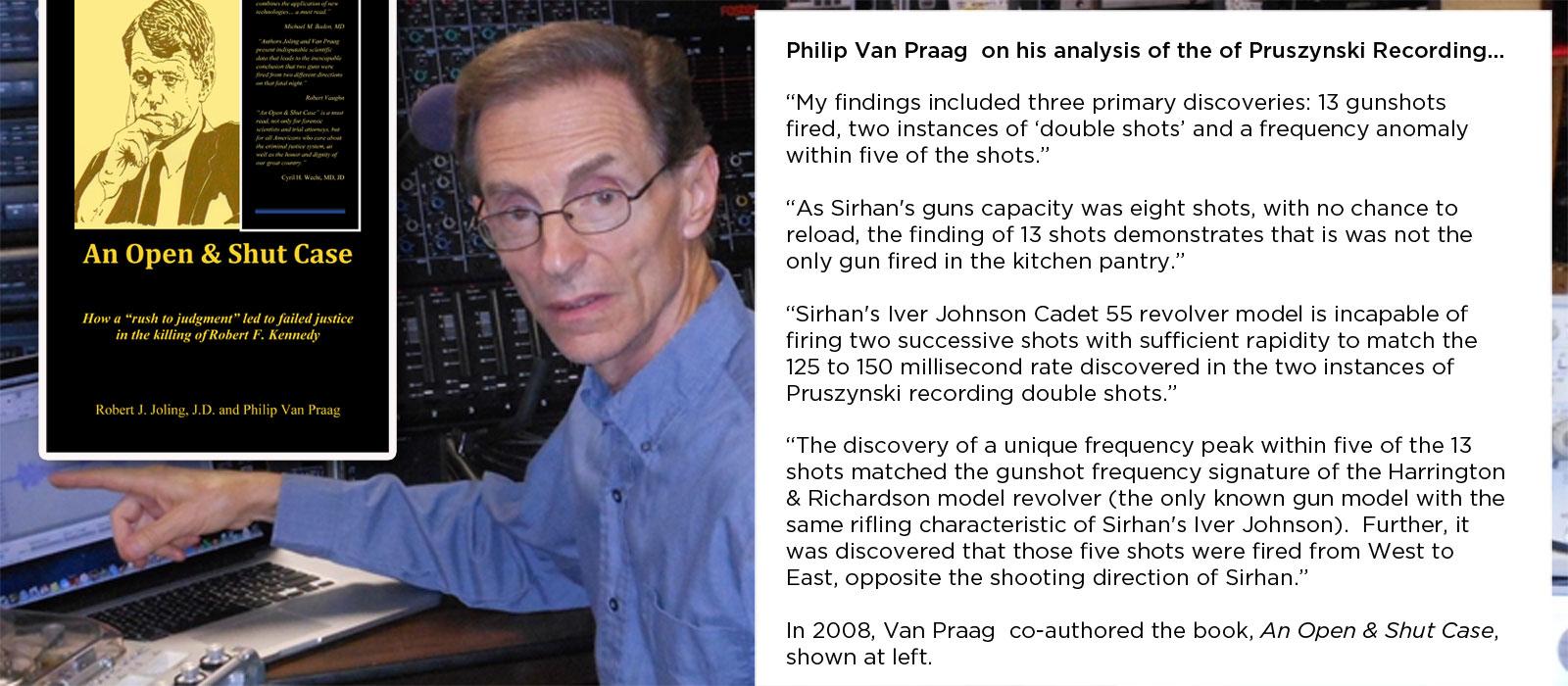 philip van praag sirhan quote 5 23 18