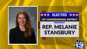 Melanie Stansbury WINNER
