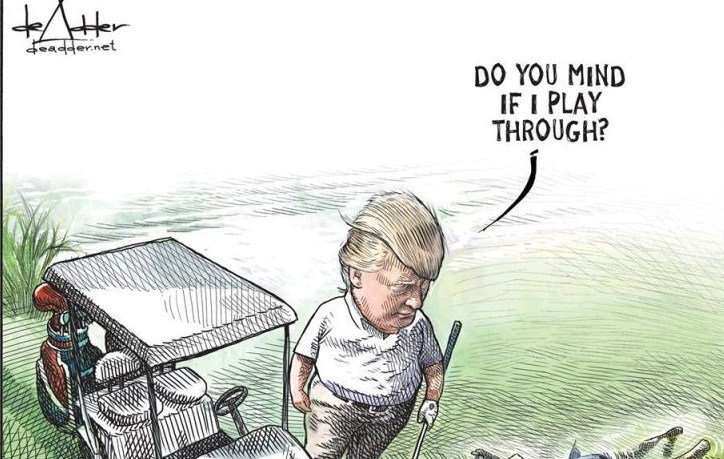 djt michael de adder play through june 2019