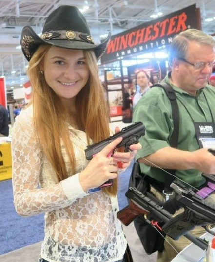 maria butina handgun facebook