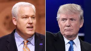 American Conservative Union President Matt Schlapp and Donald J. Trump (file photos).