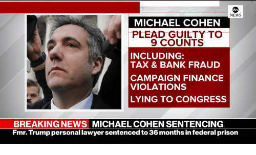 michael cohen plead guilty to 9 counts