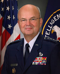 michael hayden CIA official portrait