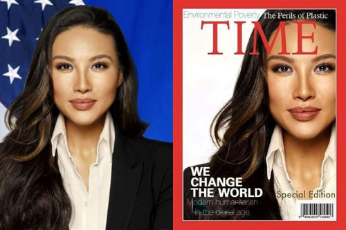 mina chang time cover and official Custom
