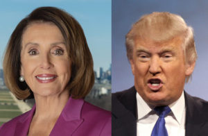 nancy pelosi djt 2 older