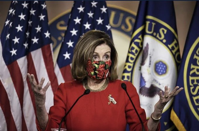 nancy pelosi mask