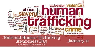 national human trafficking awareness day jan 11 Custom