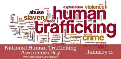 national human trafficking awareness day jan 11 Custom