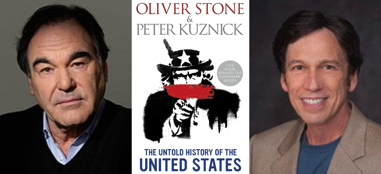 oliver stone peter kuznick book