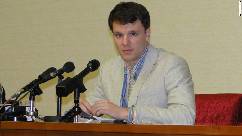 otto warmbier press conference