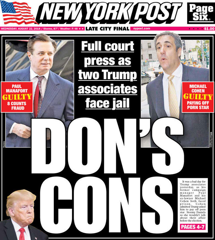 paul manafort michael cohen nypost