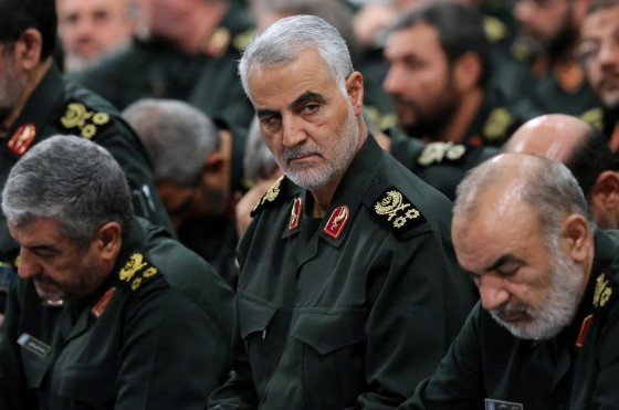 qasem soleimani 2018 via epa efe iranian supreme leader office Custom