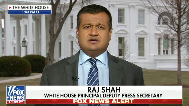 raj shah white house fox