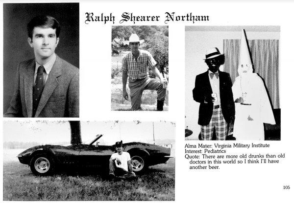 ralph northam yearbook blackface