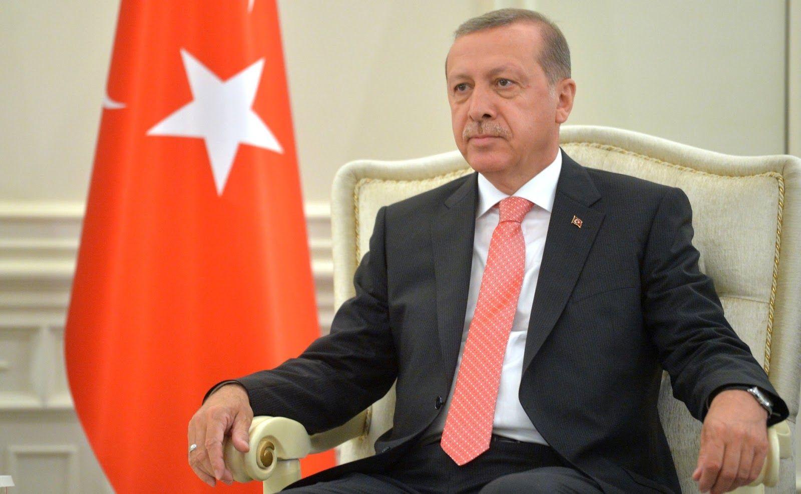 recep erdogan throne