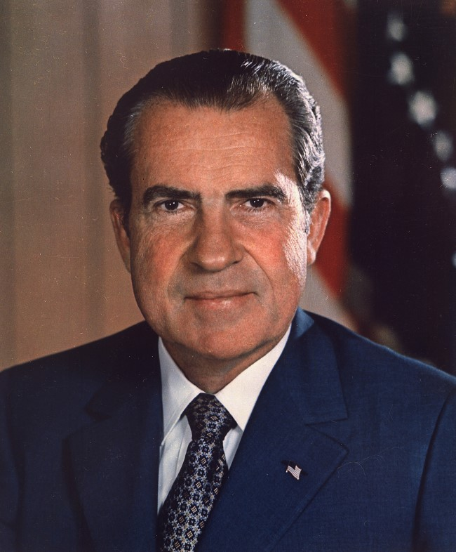 richard nixon headshot Custom