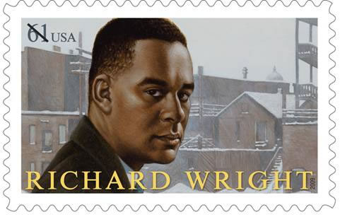 richard wright postage stamp