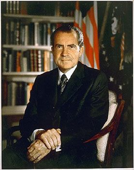 richard nixon portrait