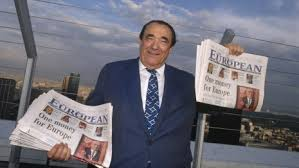 robert maxwell with papers file