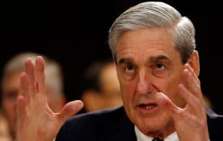 robert mueller waving hands